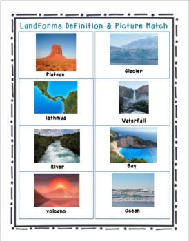 Landforms Unit-Dream Island Project & Class PowerPoints: NGSS-(2-ESS2-2)
