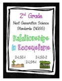 2nd Grade NGSS - Relationships in Ecosystems (2-LS2-1, 2-LS2-2, 2-LS4-1)