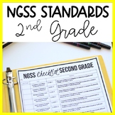 2nd Grade NGSS Standards Checklist and Planning | Science Teacher Binder