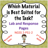 2nd Grade NGSS Testing Materials For a Specific Task Lab and Response Pages