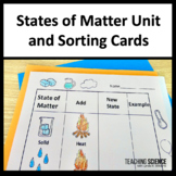 2nd Grade NGSS Unit Structure and Properties of Matter 2-PS1-1-4