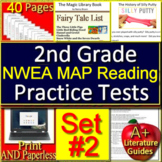 2nd Grade NWEA MAP Reading Test Prep Practice Tests #2  -  Get Ready!