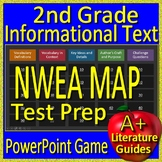 2nd Grade NWEA Map Test Prep Reading Informational Vocabulary Game RIT 171 -200