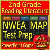 2nd Grade NWEA Map Test Prep Reading Literature and Vocabulary Game RIT 171 -200