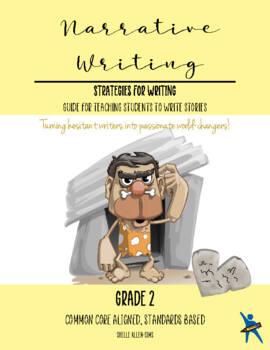 Story Narrative Writing 2nd Grade Common Core Writing Lady