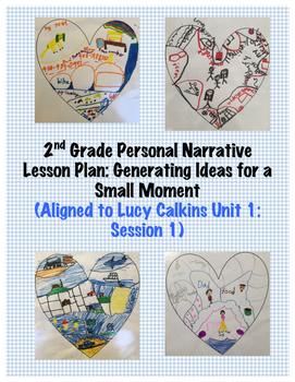 2nd Grade Narrative Small Moment Lesson: Generating Ideas