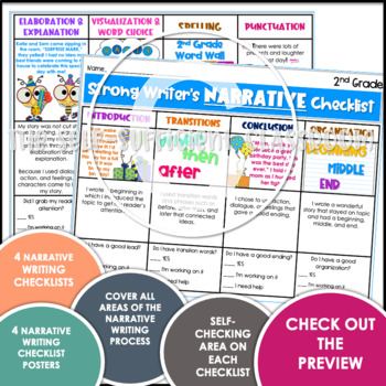 2nd Grade Narrative Writing Checklist