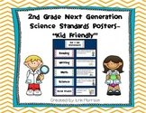 "2nd Grade Next Generation Science Standards Posters- ""Kid Friendly"""