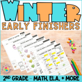 2nd Grade No Prep Winter Early Finishers Packet | Back to