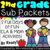 2nd Grade (No Sub) Sub Packets!