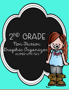 2nd Grade Nonfiction Graphic Organizers Aligned With Texas TEKS