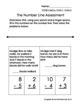 2nd Grade Number Line Unit