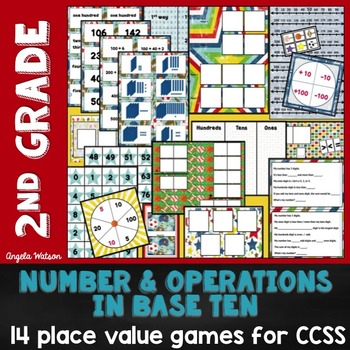 Place Value 2nd Grade: 14 math games for Common Core