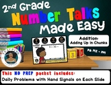 2nd Grade Number Talks Made Easy - Addition: Adding Up in Chunks
