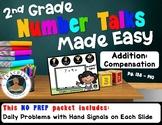 2nd Grade Number Talks Made Easy - Addition: Compensation