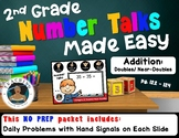 2nd Grade Number Talks Made Easy - Addition: Doubles/ Near