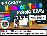 2nd Grade Number Talks Made Easy - Addition: Making Landmark or Friendly Numbers