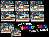 2nd Grade Number Talks Made Easy -  BUNDLE