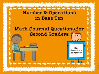 2nd Grade Number and Operations in Base Ten Journal Questions