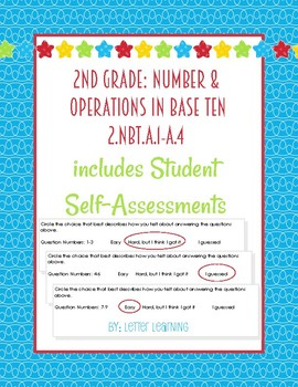 2nd Grade - Number and Place Value Recognition + Comparing 3 Digit Numbers