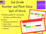 2nd Grade Number and Place Value Unit Pack