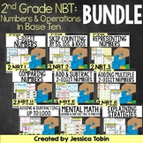 2nd Grade Numbers and Operations in Base Ten Bundle- 2nd Grade Math NBT Units