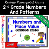 2nd Grade Numbers and Patterns Review Game