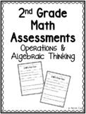 2nd Grade Operations & Algebraic Thinking Math Assessments