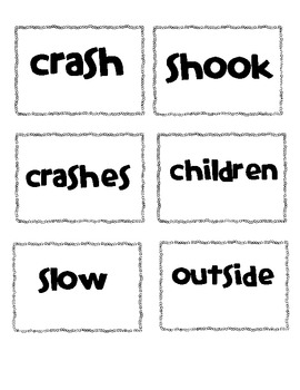 2nd Grade OOPS Word Wall Game