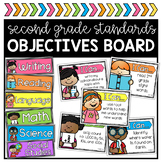 2nd Grade Objectives Board