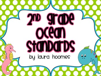 2nd Grade Ocean Standards ALABAMA Common Core