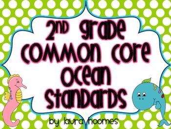 2nd Grade Ocean Standards COMMON CORE