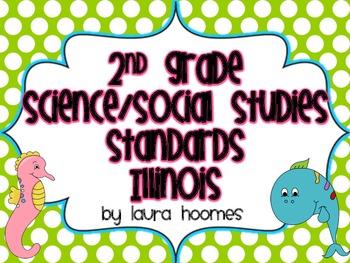 2nd Grade Ocean Standards- ILLINOIS Science/Social Studies