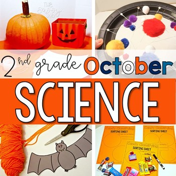 2nd Grade October Science: Four Themed Investigations and Challenges