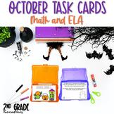 2nd Grade October Task Cards