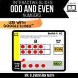 2nd Grade Odd and Even Numbers | Google Classroom™ | Dista