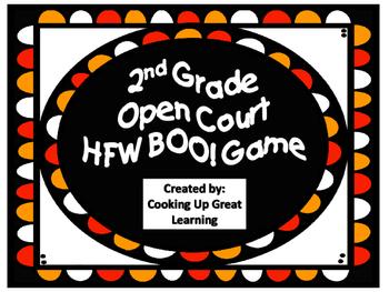 2nd Grade Open Court Halloween BOO! Game