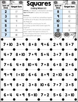 2nd Grade Math Games: 2nd Grade Addition and Subtraction {2.OA.2, 2.NBT.5...}