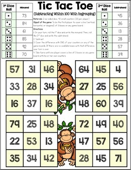 2nd Grade Math Games: 2nd Grade Addition and Subtraction ...