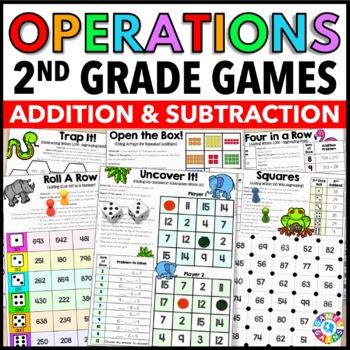 picture about Addition and Subtraction Games Printable referred to as Addition And Subtraction Online games Printable Worksheets TpT
