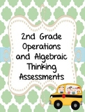 2nd Grade Operations and Algebraic Thinking Assessments {OA.1, OA.2, OA.3, OA.4}