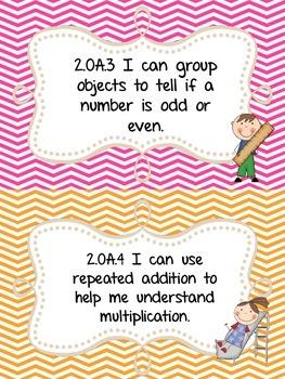 2nd Grade Operations and Algebraic Thinking Assessments {OA.1, OA.2, OA.3, OA.4}