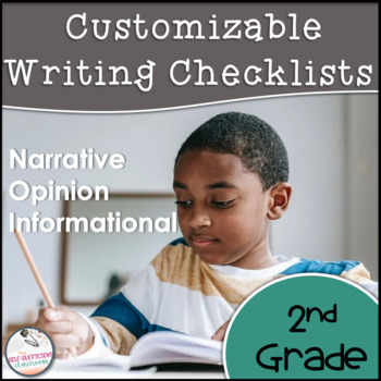 2nd Grade Opinion, Narrative, & Informational Writing Rubric/Posters