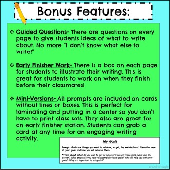 2nd Grade Opinion Writing Prompts
