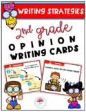 2nd Grade Opinion Writing Strategy Cards
