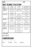 Oral Reading/ Comprehension Evaluation