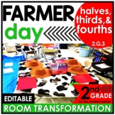 2nd Grade Partition Shapes | Farmer Classroom Transformation