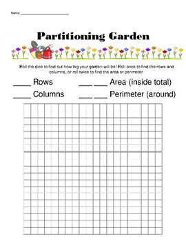 2nd Grade Partitioning - Practice Sheets, Game, Assessment