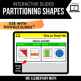 2nd Grade Partitioning Shapes | Google Classroom™ | Distan