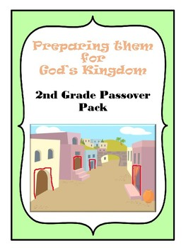2nd Grade Passover Pack BW
